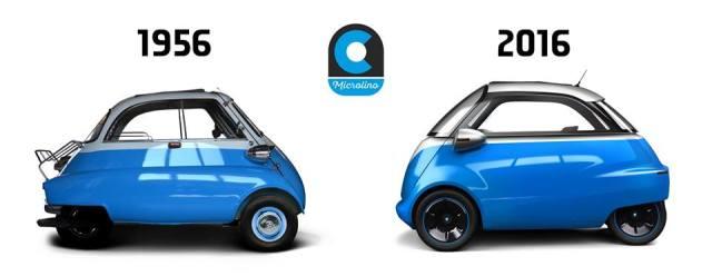 Microlino-elektromobil