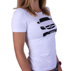 Mercedes Benz CL lady t-shirt