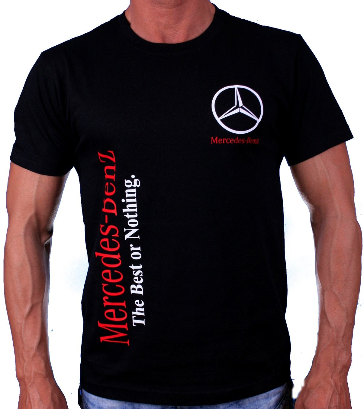 2019 real how to find footwear Mercedes-Benz Best or Nothing T-Shirt Auto Moto Fans