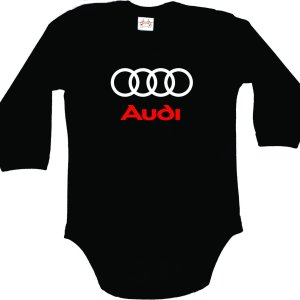 Audi Quattro Bodysuit for Baby with long sleeves