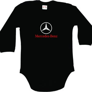 Mercedes-Benz Bodysuit for Baby with long sleeves