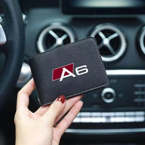 Auto-Driver-License-Cover-PU-Leather-Car-Driving-Documents-Case-Credit-Card-Holder-For-Audi-A3