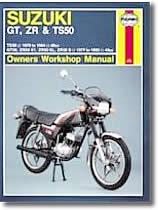 Revue technique moto Suzuki 50  550 cm