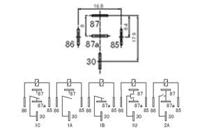 12V 30A Mini Relay_Zhejiang Feileisi Electrical Technology
