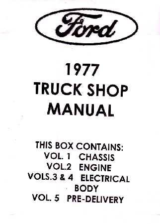 1977 Ford Truck: Bronco, F-Series & Econoline & Medium
