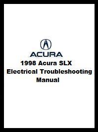 1998 Acura SLX Electrical Troubleshooting Manual