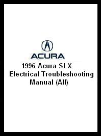 1996 Acura SLX Electrical Troubleshooting Manual (All)