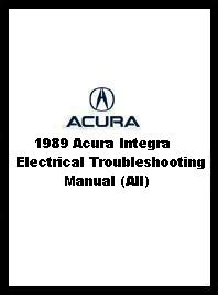 1989 Acura Integra Electrical Troubleshooting Manual (All)