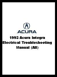 1992 Acura Integra Electrical Troubleshooting Manual (All)