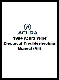 1994 Acura Vigor Electrical Troubleshooting Manual (All)
