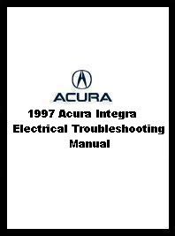 1997 Integra Electrical Troubleshooting Manual