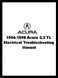 1996-1998 Acura 3.2 TL Electrical Troubleshooting Manual