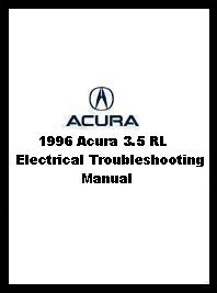 1996 Acura 3.5 RL Electrical Troubleshooting Manual