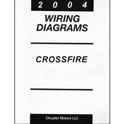 2004 Chrysler Crossfire Wiring Diagrams