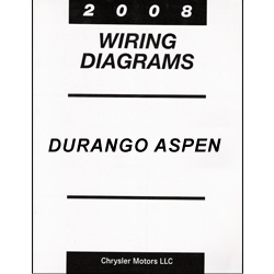 2008 Dodge Durango and Chrysler Aspen (HB/HG) Wiring Manual