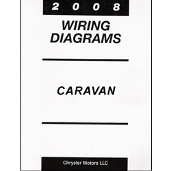 2008 Dodge Caravan and Chrysler Town & Country (RT) Wiring