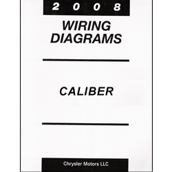 2008 Dodge Caliber (PM) Wiring Manual