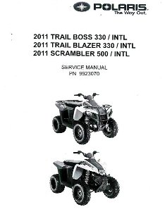 2011 Polaris Trail Boss 330, Trail Blazer 330 & Scrambler