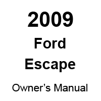 Ford Escape Maintenance Repair Manuals Free Shipping