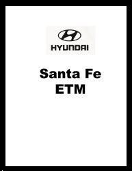 2003 Hyundai Santa Fe Factory Electrical Troubleshooting