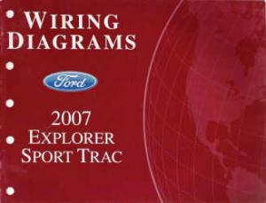 2007 Ford Explorer Sport Trac  Wiring Diagrams