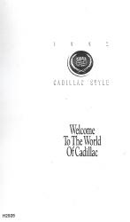 1992 Cadillac El Dorado Factory Owner's Manual