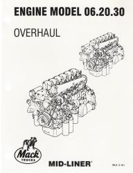 Mack Truck Engine Model 06.20.30 Overhaul Manual