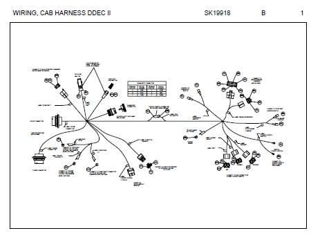 Peterbilt 387 Engine Harness Wiring Diagram (Cummins ISX