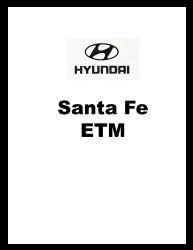 2001 Hyundai Santa Fe Factory Electrical Troubleshooting