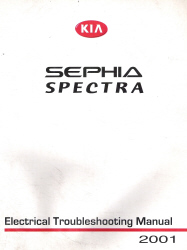 2001 Kia Sephia/Spectra Factory Electrical Troubleshooting