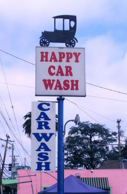 happy car wash