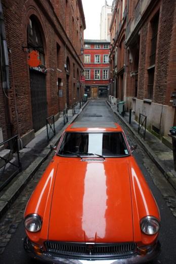 MG B GT CAPOT