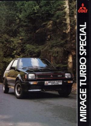 Mitsubishi colt 1400 Turbo