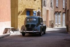 Renault 4CV Arrière