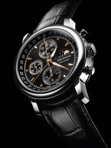 Aerowatch Chronographe Renaissance édition Limitée. 2500 euros. Introuvable.