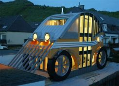 maison voiture design