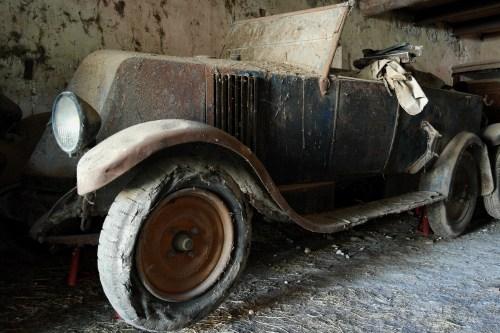 Sortie de grange Renault KZ