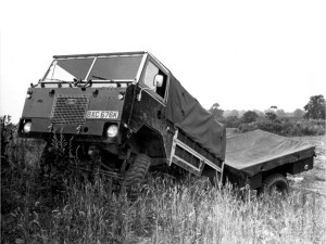 land rover forward control