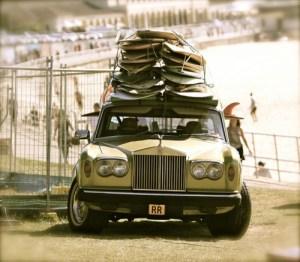 Silver Shadow Surf Car