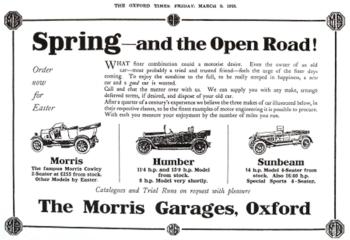 MG classic flyer