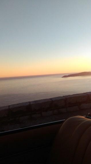 ds cab sunset