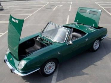 1967 fiat 850 bertone spider convertible 2