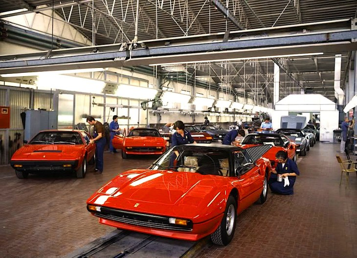 Chaine Ferrari 1979