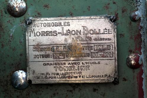 Details Morris Léon Bollée