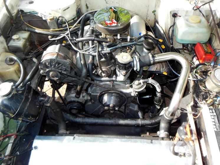 RELIANT SCIMITAR SE6 moteur