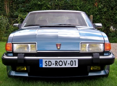 rover sd1 front