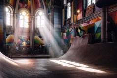 church skatepark