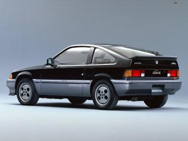 Honda CRX Noire AR