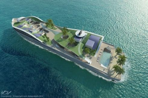Yacht Ile tropicale 2