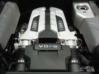 Audi R8 V8 moteur